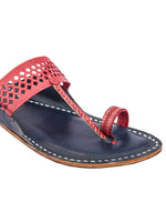 Diamond Punching Kolhapuri Chappal