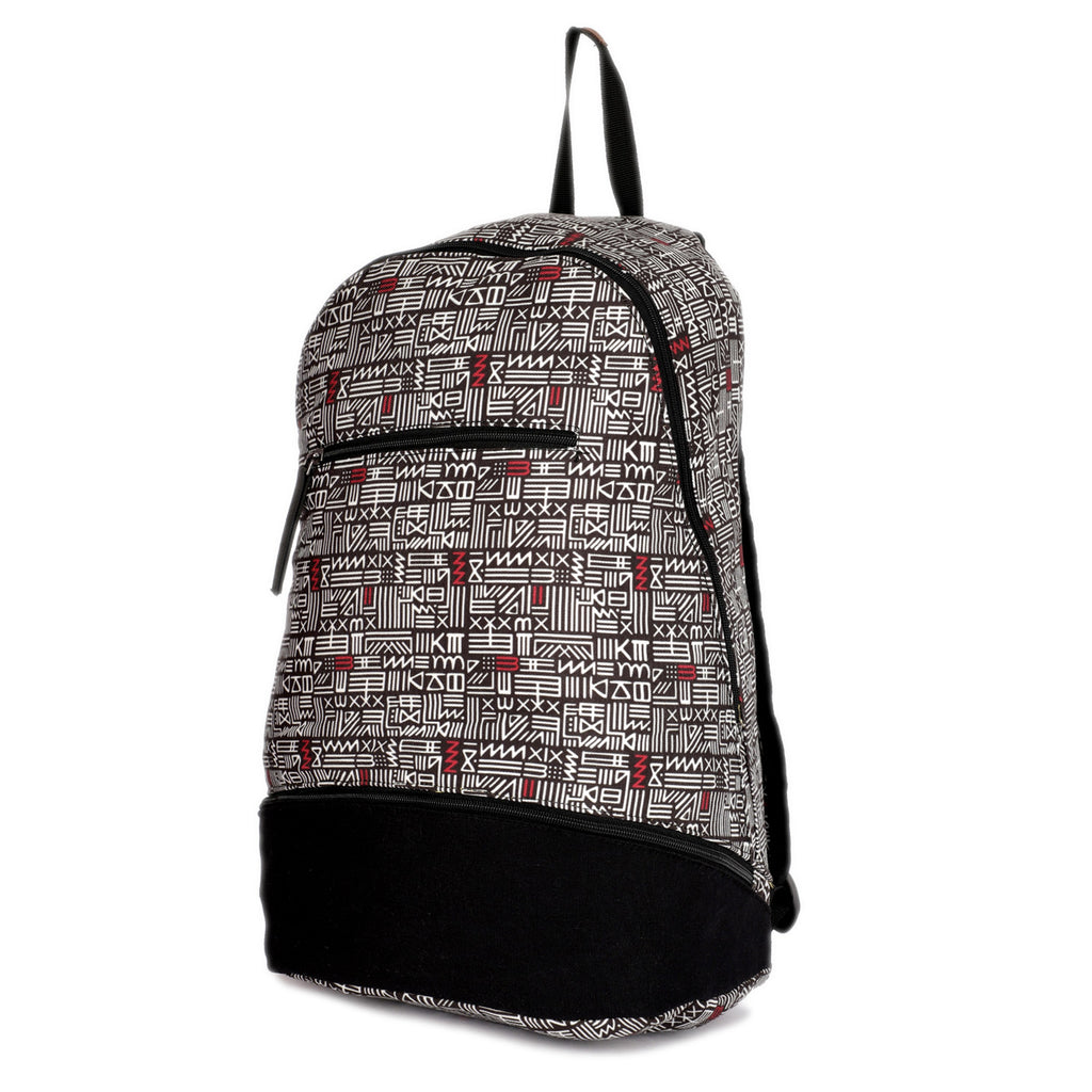 Everyday Printed Canvas Backpack