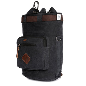 Washed Canvas Travel Rucksack