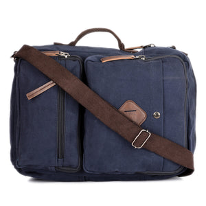 Waxed canvas convertible Laptop Backpack