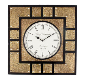 Square Clock Brass Fitting 18""