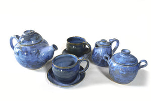 Blue Kettle Set