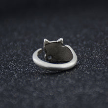 Load image into Gallery viewer, Antique Rescue Cat Ring