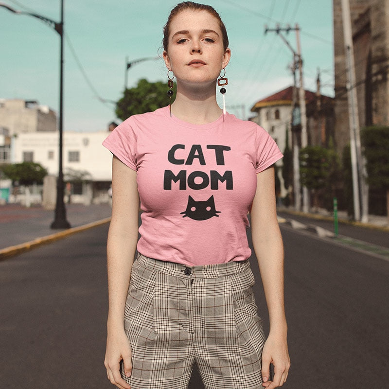 fd52e25c4 Load image into Gallery viewer, Cat Mom Shirt ...
