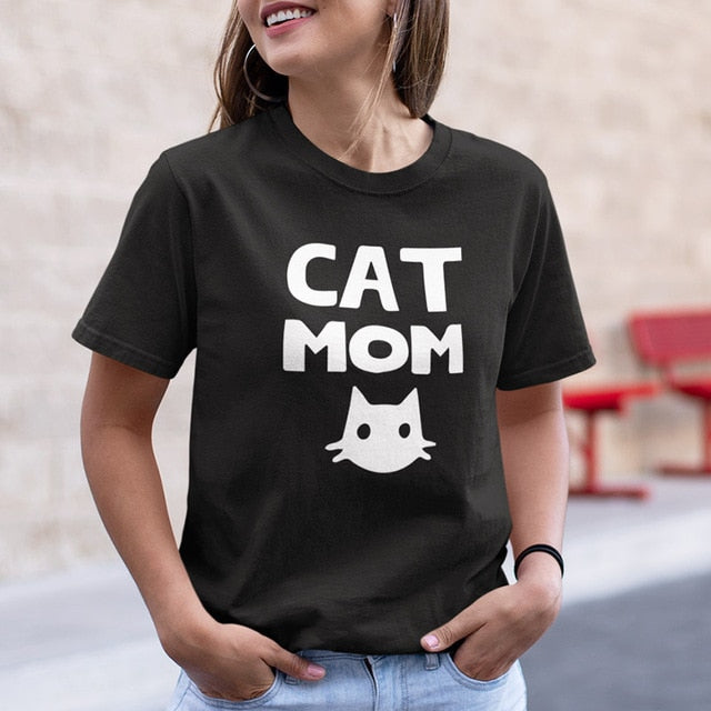 e14049022 ... Load image into Gallery viewer, Cat Mom Shirt ...