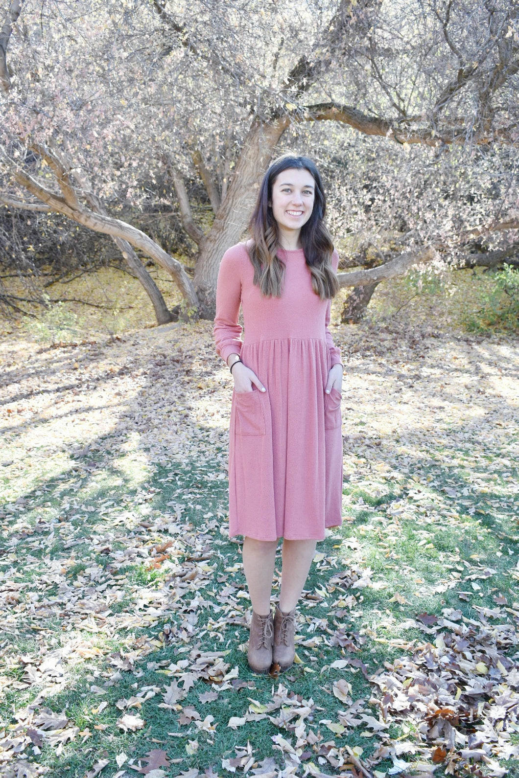 The Tia Sweater Dress