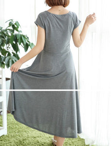 Swing Dress in Gray