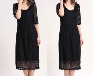 The Evelyn Lace Dress