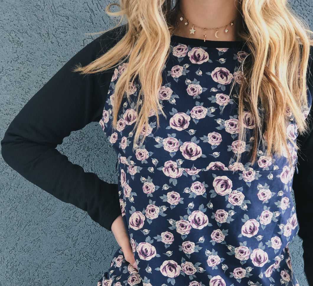 The Bree Floral Pullover