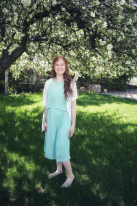 Light Blue Flowy Dress