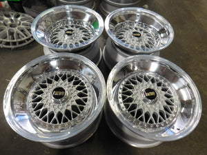"18"" BBS RS (Silver) Triple Step - 5x114.3"