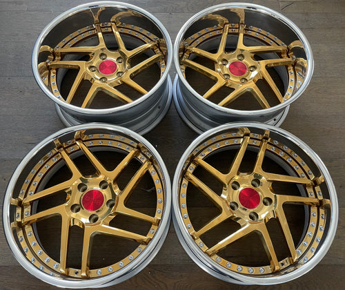 "18"" GMR VSS-16 Directional 5x114.3 (INVENTORY SET)"