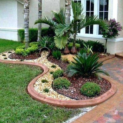 Landscape Stone Designs around Trees - Nurserylive
