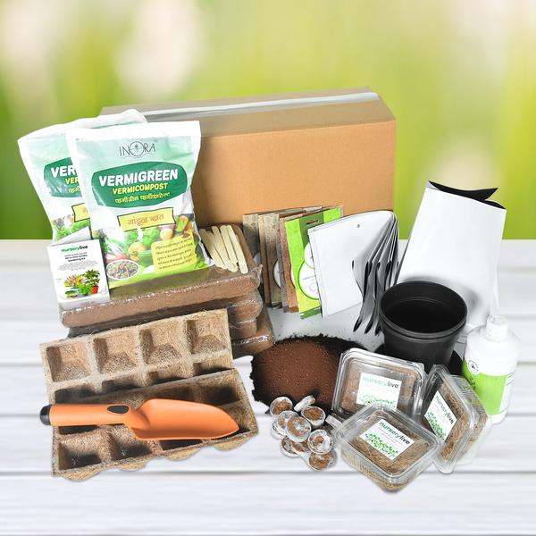 Gardening Made Easy with All-in-One Jumbo Gardening Kit