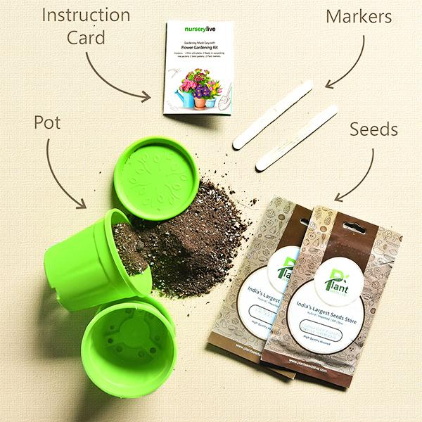 Gardening Made Easy with Flower Gardening Kit