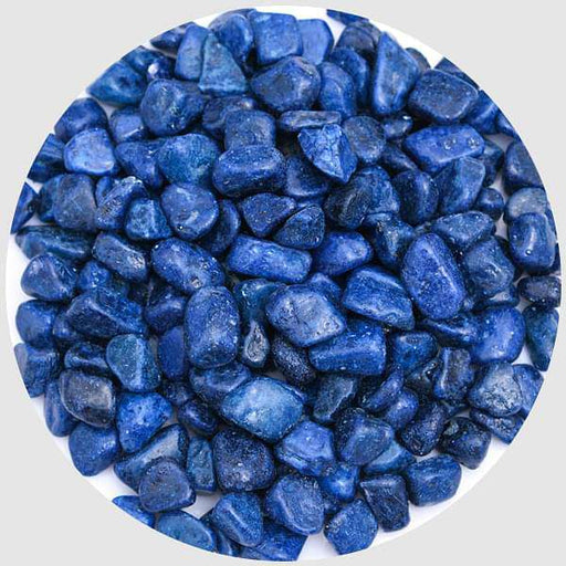 Aquarium Pebbles (Navy Blue, Medium) - 1 kg - Nurserylive