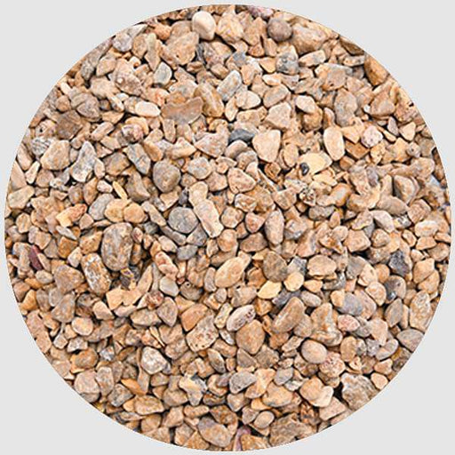 Chips Pebbles (Brown, Small, Polished) - 1 kg - Nurserylive