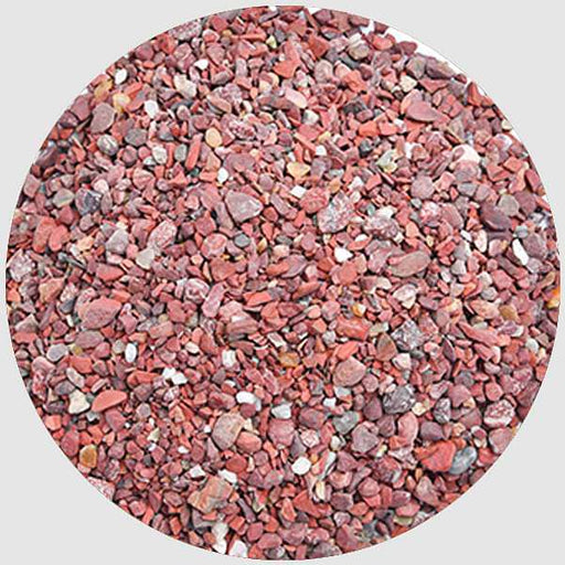 Chips Pebbles (Maroon, Small, Polished) - 1 kg - Nurserylive