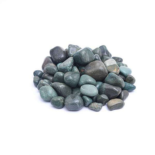 Garden Pebbles (Aqua Green Color, Medium) - 1 kg - Nurserylive