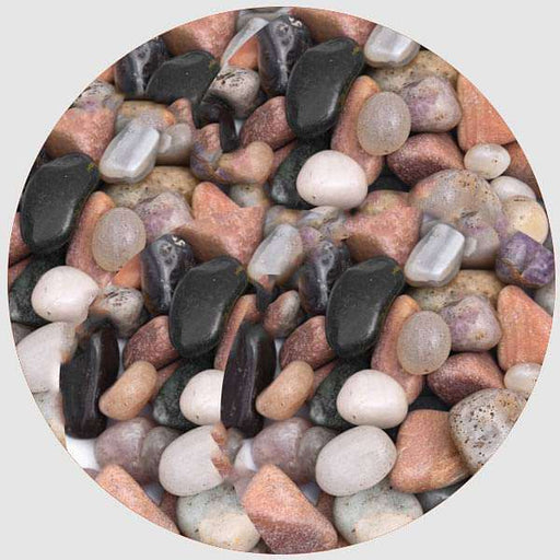 Garden Pebbles (Mix Color, Small) - 1 kg - Nurserylive