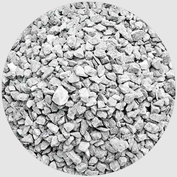 Natural Chips Pebbles (Grey, Small, Unpolished) - 1 kg - Nurserylive