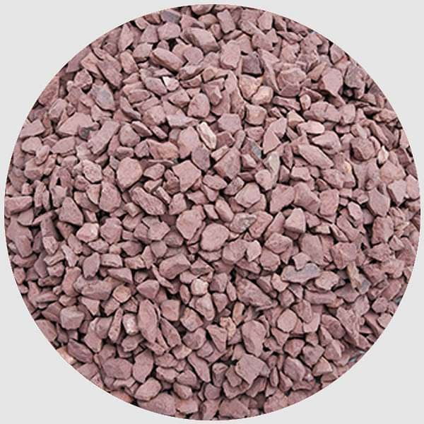 Natural Chips Pebbles (Red, Small, Unpolished) - 1 kg - Nurserylive