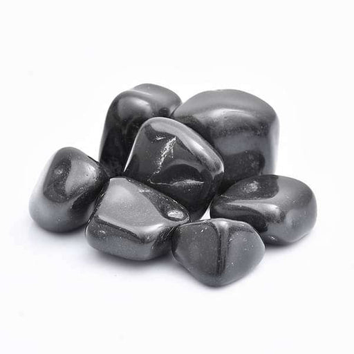 Super Granite Pebbles (Black, Big, Polished) - 2 kg - Nurserylive