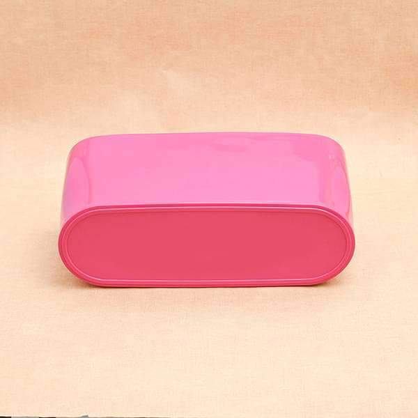 15.8 inch (40 cm) Florida Oval Plastic Planter (Dark Pink) (set of 3) - Nurserylive