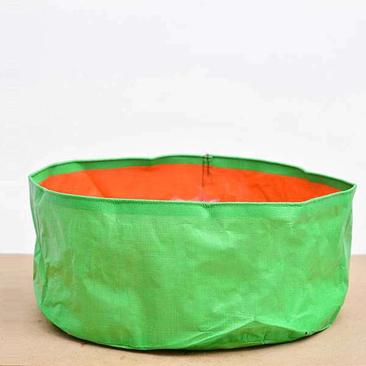 18 inch (46 cm) Round Grow Bag (Green) (set of 2) - Nurserylive