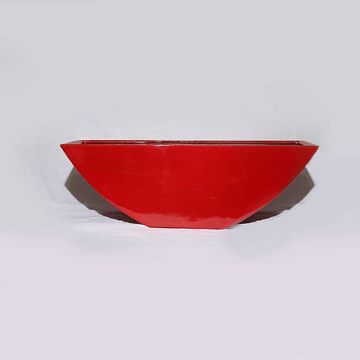 30 inch (76 cm) OTH-4 Rectangle Fiberglass Planter (Red) - Nurserylive