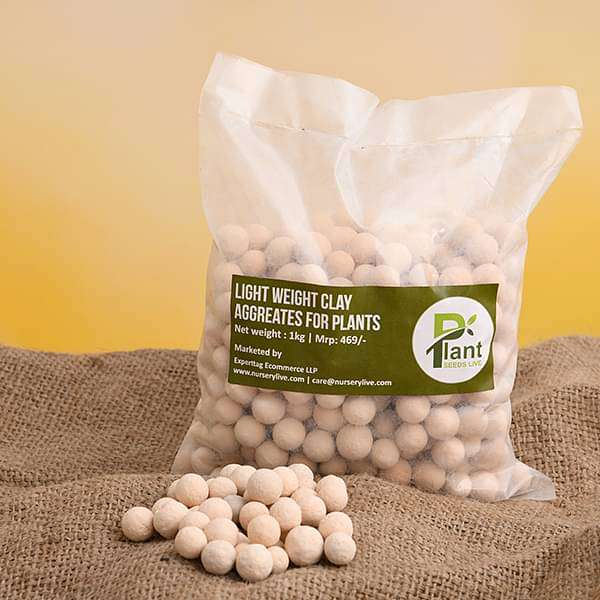 Light Weight Clay Aggregates For Plants - 1 kg