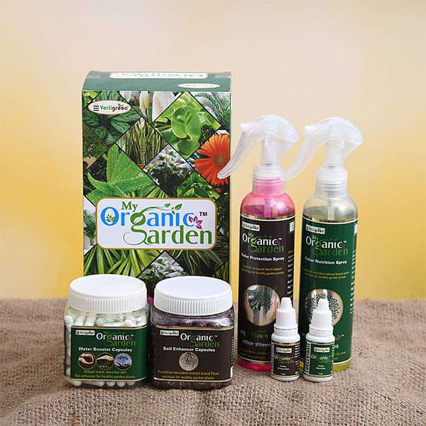 My Organic Garden (Plant Protection and Enhancer Kit) - Nurserylive
