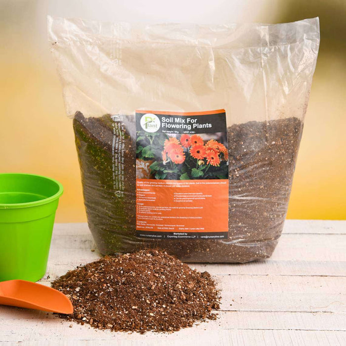 Potting Soil Mix for Flowering Plants - 5 kg