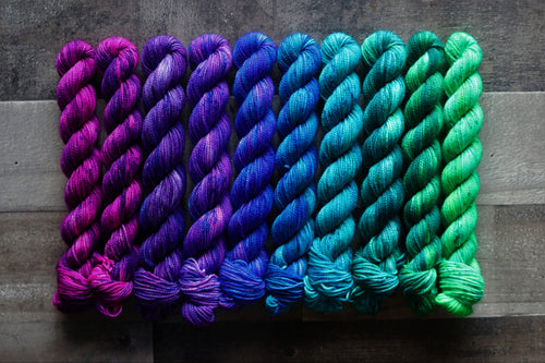 Mermaid Hair Mini Skein Set