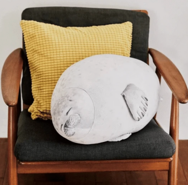 Chonky Seal Plush Pillow