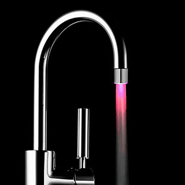 LED Colorful Glow Faucet Light