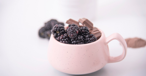 Our favourite hot chocolate recipes: Blackberry hot chocolate