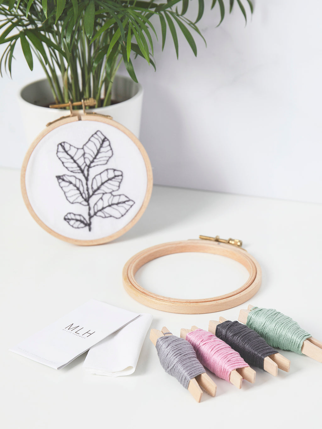 Mini Embroidery Hoop Kit | Make Range | Buy Online at My Life Handmade