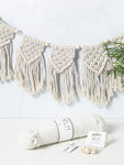 Macrame Bunting Craft Kit | Make Range | Buy Online at My Life Handmade