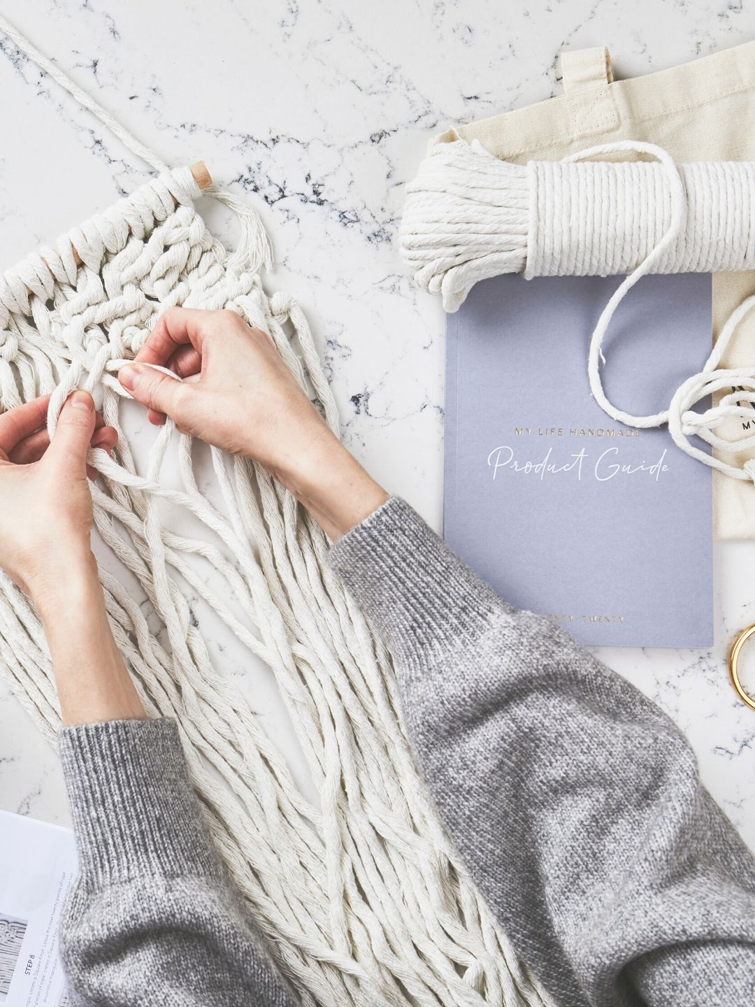 Large Macrame Wall Hanging Craft Kit