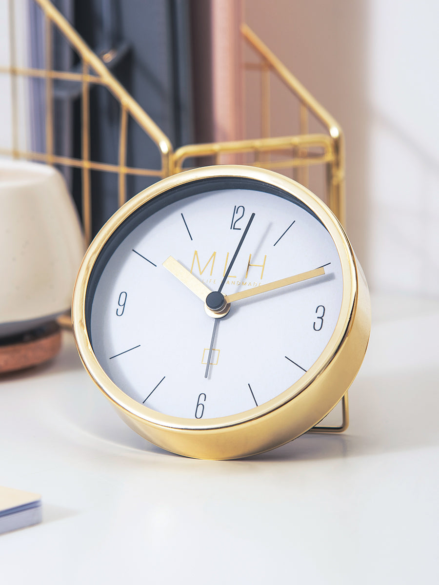 Luxurious Gold Alarm Clock | Home Range | Shop My Life Handmade