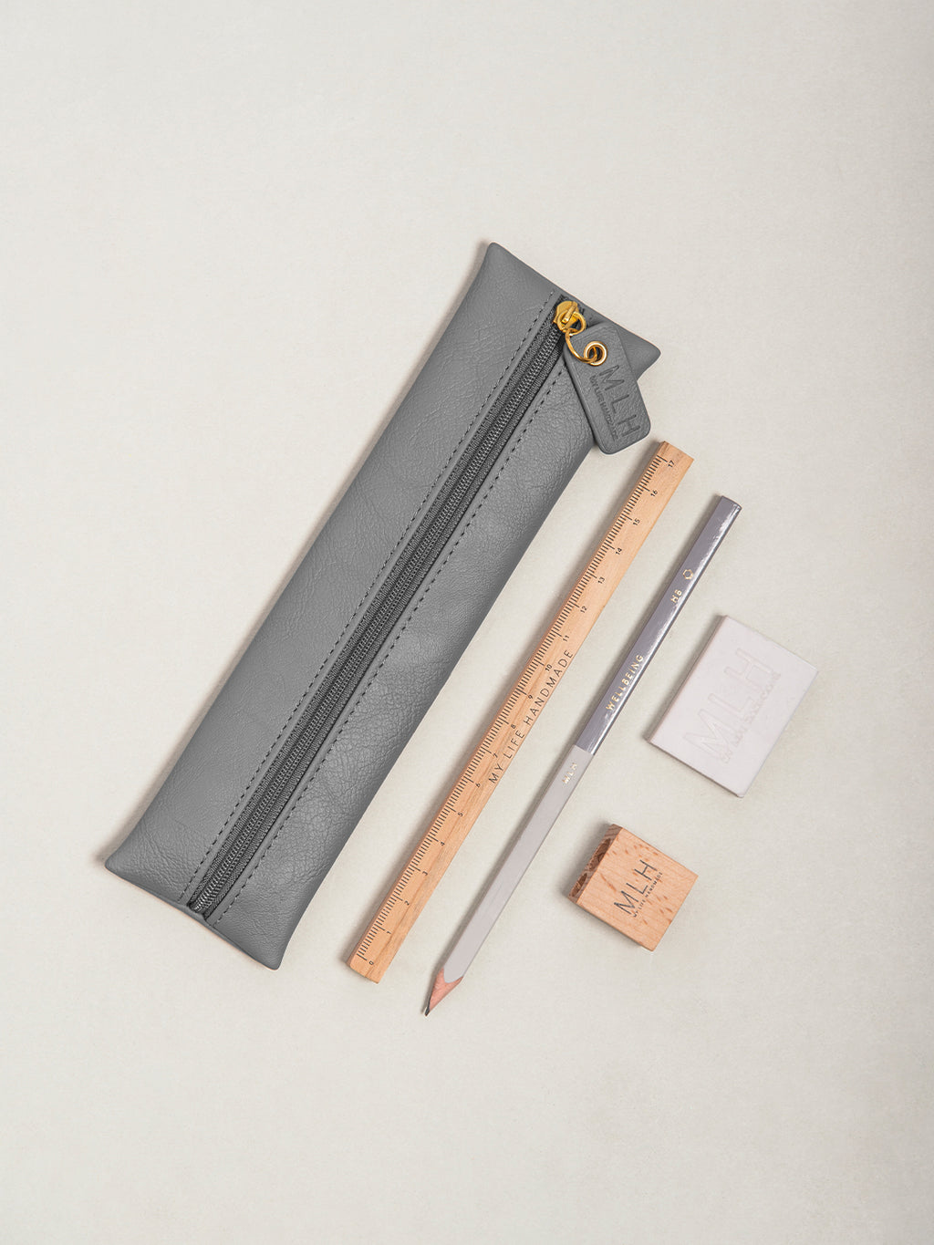 Dark Grey Pencil Case