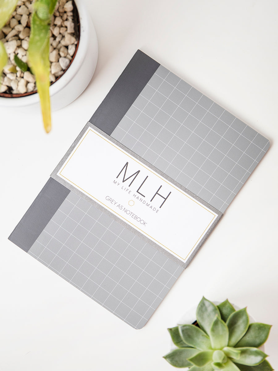 Grey A5 Notebook