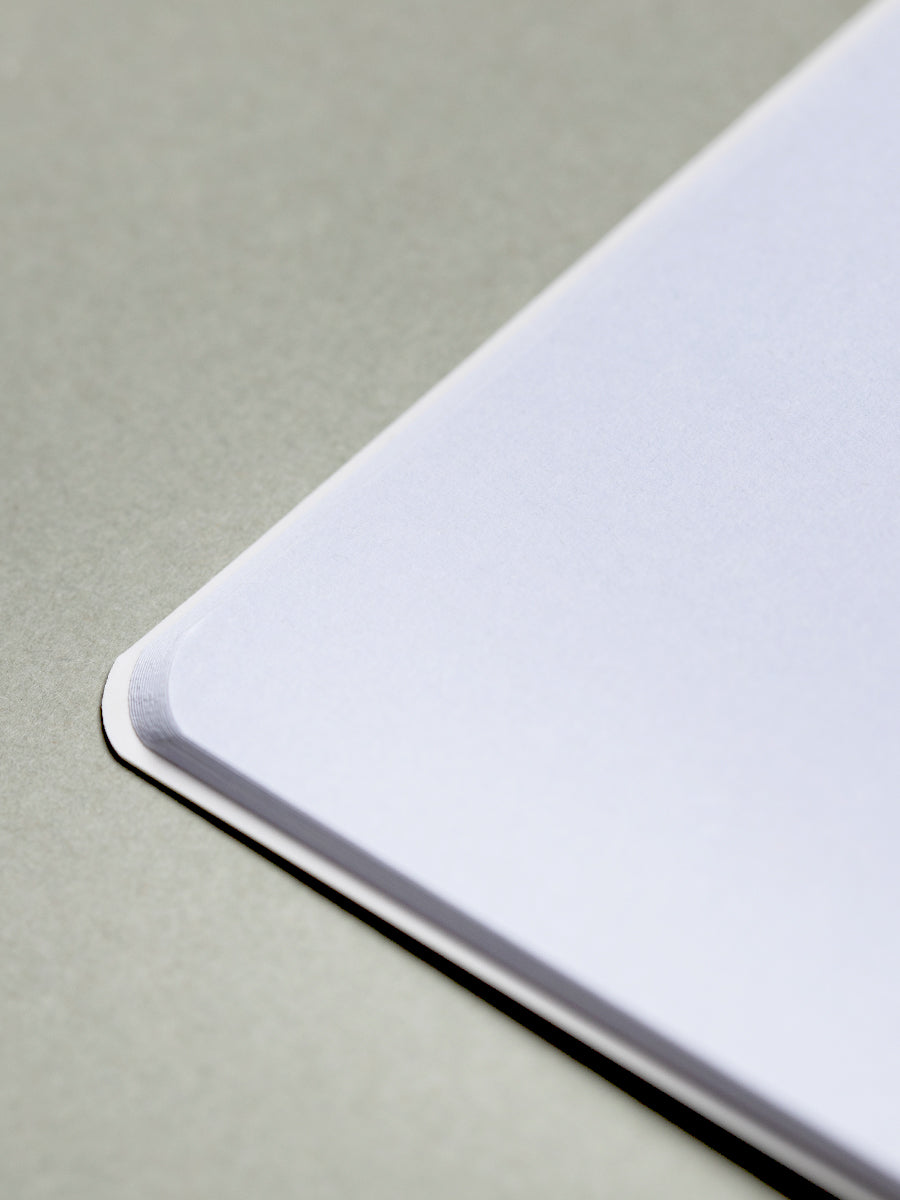 Grey A5 Plain Notebook