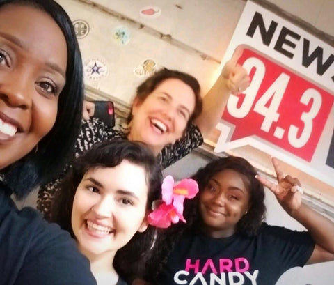 Hard Candy Women's Self Defense iHeartRadio WSC94.3 w/ Kelly Golden Antonia Hartsfield Lucy Siciliano