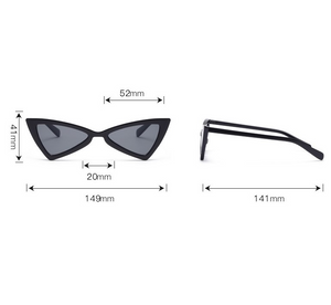 Lentes Bad Bunny Collection Blanco - Gris
