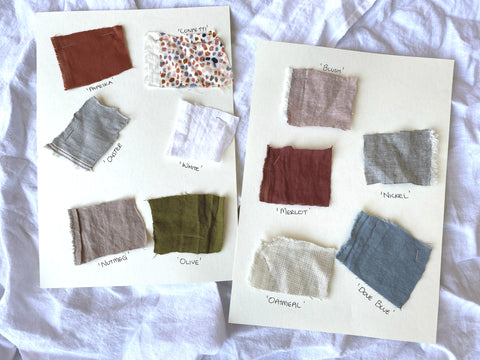MATTA Clothing fabric swatches