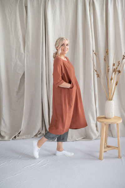 Tilly Dress - Toffee - Matta Clothing