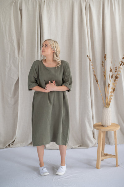 Tilly Dress - Sage - Matta Clothing