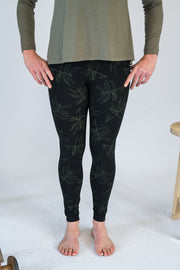Our Model is wearing the Travel Pants - Black/Khaki by Matta Clothing Australia.